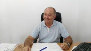 Jorge Díaz, presidente del Real Club Marítimo de Punta Umbría.