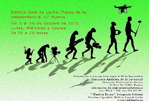 Cartel Curso La Era del Vidio 2015
