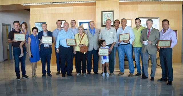 Reconocimiento del Recreativo de Huelva a los abonados fallecidos.