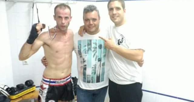 Álvaro Pichardo, deportista palmerino de kick boxing.