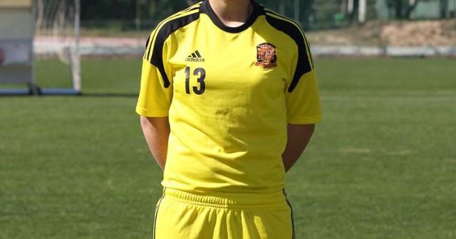 María Sampalo, jugadora del Cajasol Sporting.
