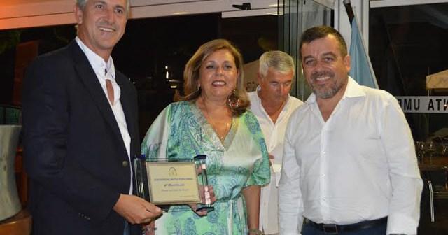Entrega de premios en el Club Náutico Punta Umbría.