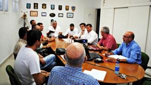 Acuerdo entre el Club Marítimo de Huelva y los Juegos Europeos de Policías y Bomberos.