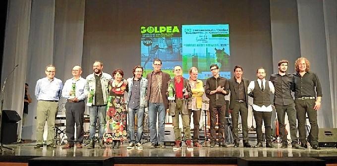 Entrega de los PREMIOS VERDES 2015 foto final