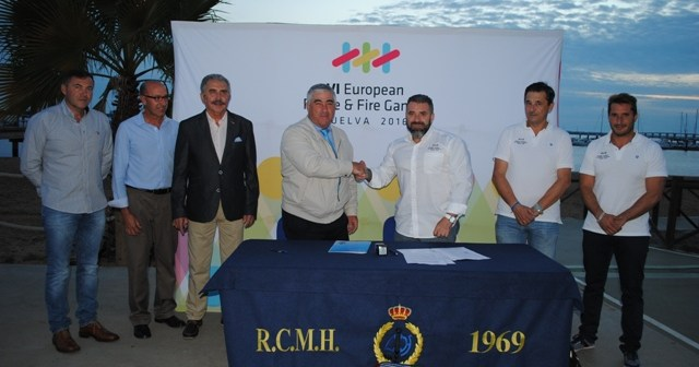 Convenio entre Huelva 2016 y el Club Marítimo de Huelva.