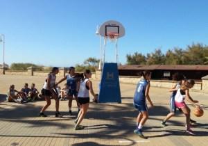 Jornadas formativas sobre baloncesto de la Diputación de Huelva.