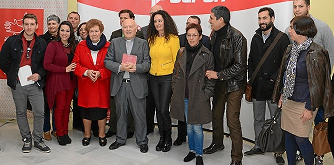 Entrega de los Premios al Valor Social del año 2014.
