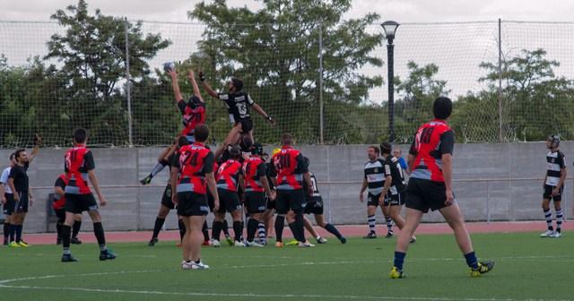 Huelva Rugby Unión ante Rinconada.
