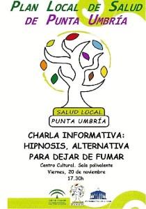 Cartel Charla Salud