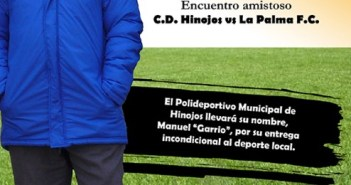 El polideportivo de Hinojos llevará el nombre de Manuel Garrio.