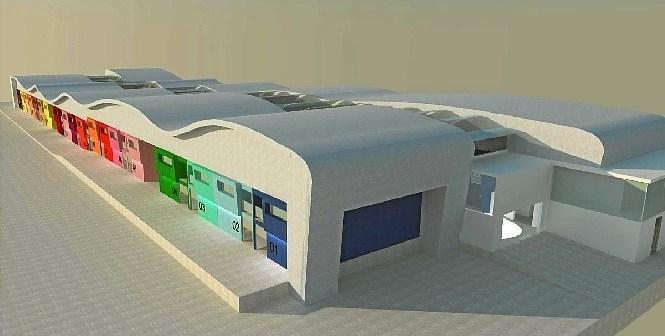 Proyecto inicial de la Ciudad del Marisco.