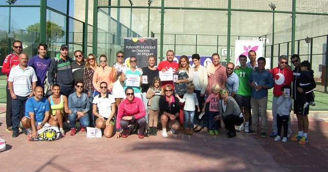Torneo de pádel por la Igualdad en Moguer.