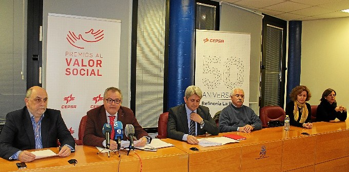 Jurado de la XI edicion Premios al Valor Social de Cepsa