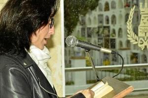 poetas guadiana 3. Gema Martin concejala de cultura