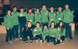 Equipo de judo del TSV.
