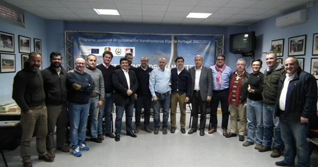 Comité Organizador del Campeonato de Europa de fútbol sala para sordos en Ayamonte.