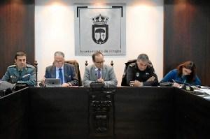 JUNTA LOCAL DE SEGURIDAD CANDELARIA HINOJOS