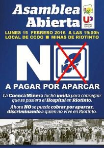 Asamblea Abierta en Minas de Riotinto