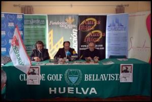 Presentación del Torneo Benéfico Tauro Golf.