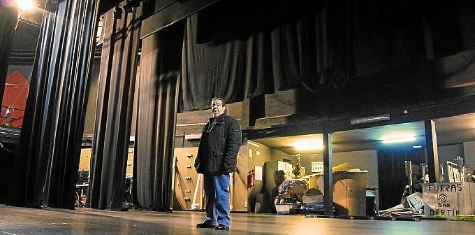 Pepe en el escenario del Horacio Noguera