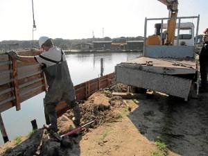 Pesca Salinas del Astur Obra Muro (3)