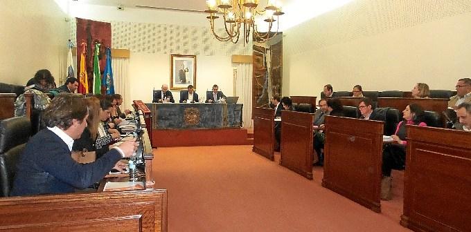 Pleno ordinario de febrero en la Diputación de Huelva.