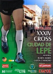 Cartel del Cross Ciudad de Lepe.