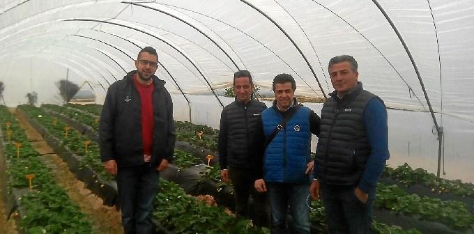 visita italianos finca El Cebollar