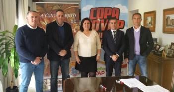 Convenio para la celebración de la Copa Covap en Niebla.