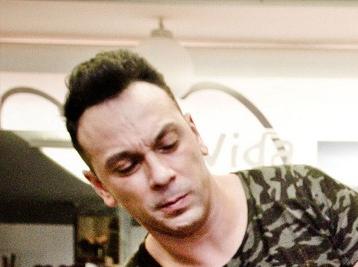 El estilista onubense Fernando Palacios.