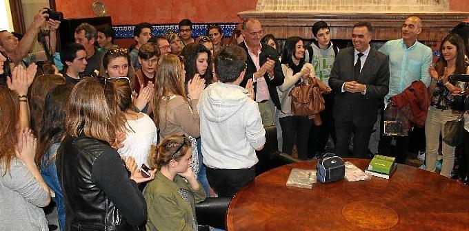Estudiantes visita La Palma
