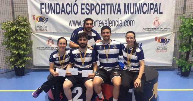 Jugadores del Recreativo IES La Orden en Valencia.