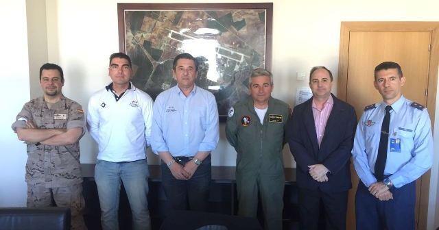 Presentación de los Juegos Europeos de Policías y Bomberos en la base áerea de Morón de La Frontera.