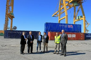 Muelle Sur Visita Delegado Agricultura Junta y Bollo International  Fruits