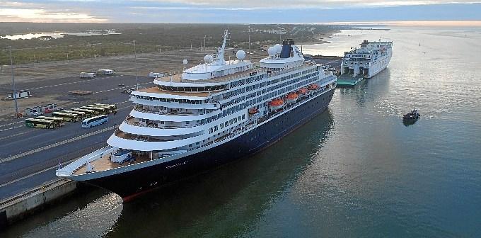 Prisendam & ferry Puerto de Huelva