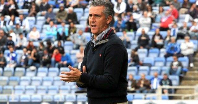 Alejandro Ceballos, técnico del Recreativo de Huelva. (Espínola)