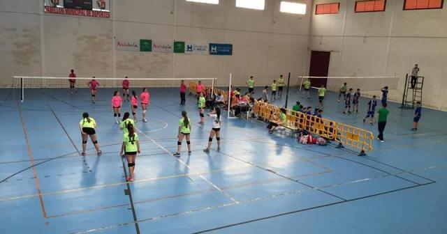 XI Torneo Internacional de Voleibol en San Bartolomé.