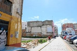 Zona antiguo mercado Huelva