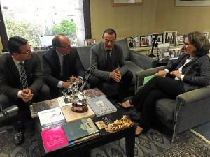 caraballo recibe a la secretaria general iberoamericana (3)