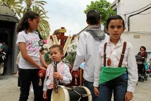 cruces de mayo infantiles en la palma del condado (8)