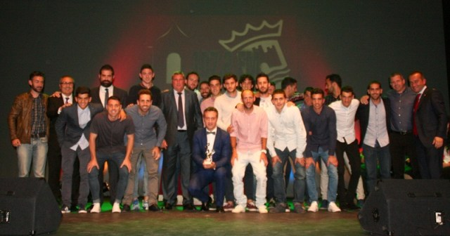 Gala del fútbol en Cartaya.