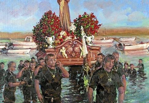 Cartel fiestas San Antonio Punta del Moral (1)