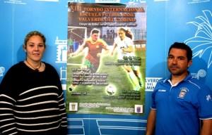 Presentación del torneo de fútbol base en Valverde del Camino.