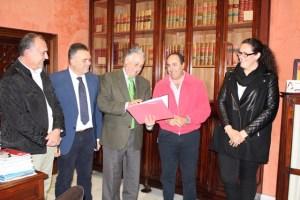 Solicitud de Medalla al Mérito deportivo para La Palma CF.