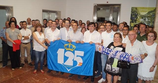Diputación de Huelva con el Recreativo.