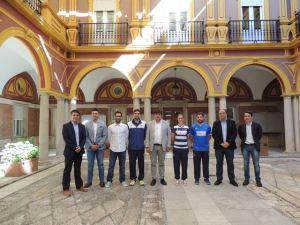 Despedida al IES La Orden en el Ayuntamiento de Huelva.