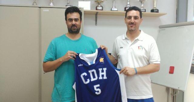 Diego Gago, nuevo entrenador del Ciudad de Huelva.