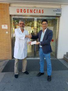 Convenio entre la Clínica Los Naranjos y el Recreativo de Huelva.