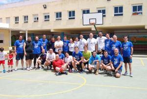 Fiesta del baloncesto en el Colegio Moliere.
