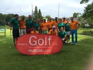 Torneo de golf en Holanda.